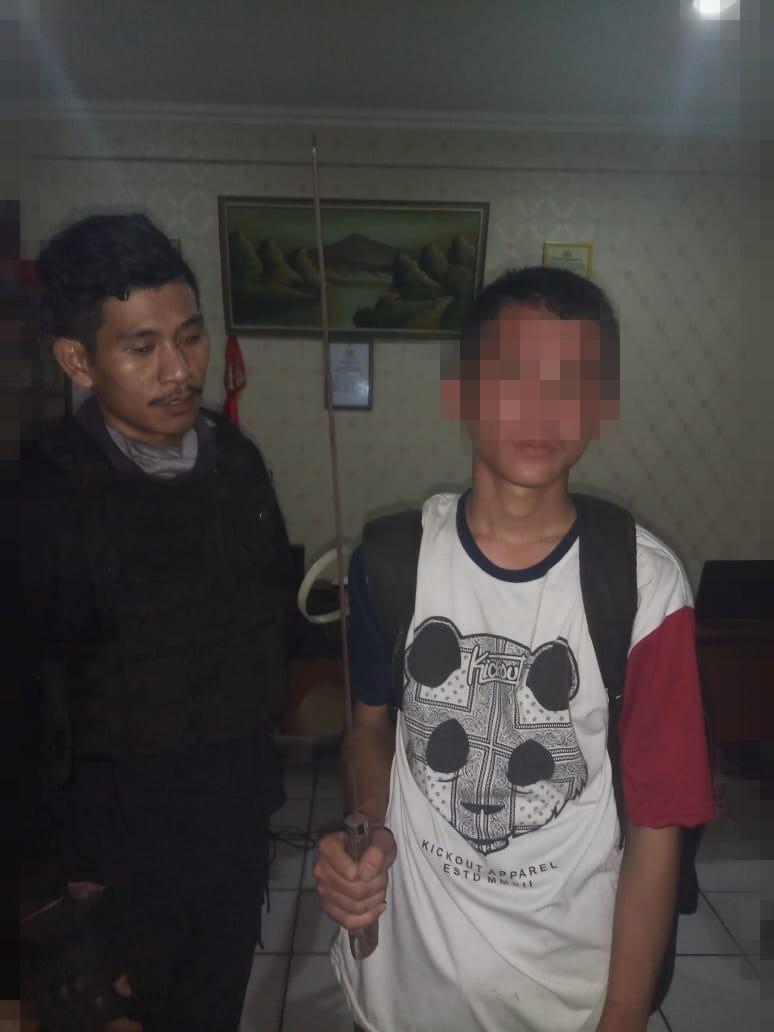 Ditangkap Polisi, Dua Bocah Ingusan Terlibat Tawuran Di Kalideres