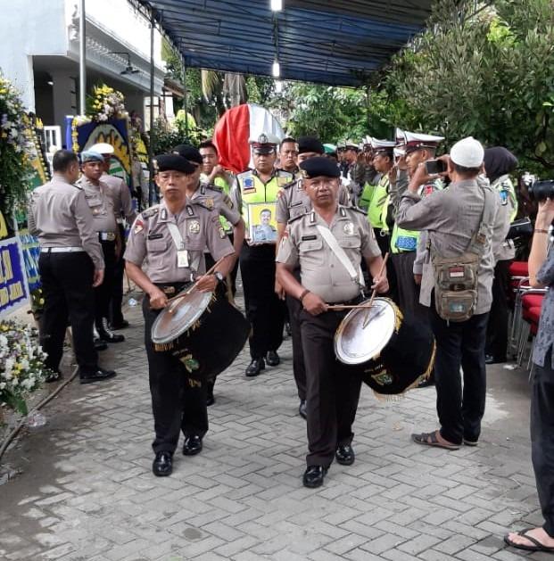 Prajurit Bhayangkara Aiptu Bambang Atmojo Lantas Jakbar, Gugur Saat Menjalankan Tugas