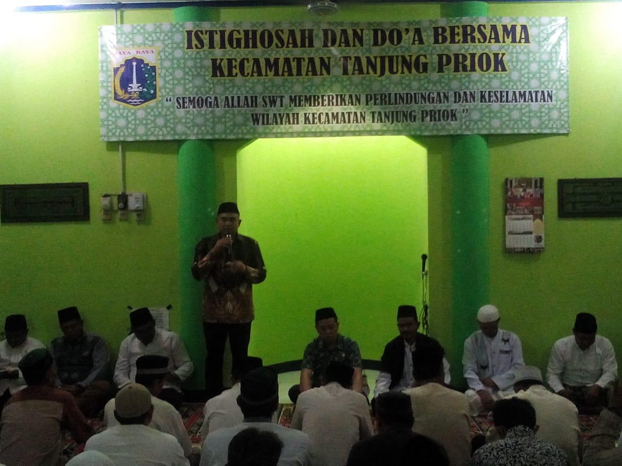 Kecamatan Priok Gelar Istiqosah Dan Dzikir Bersama