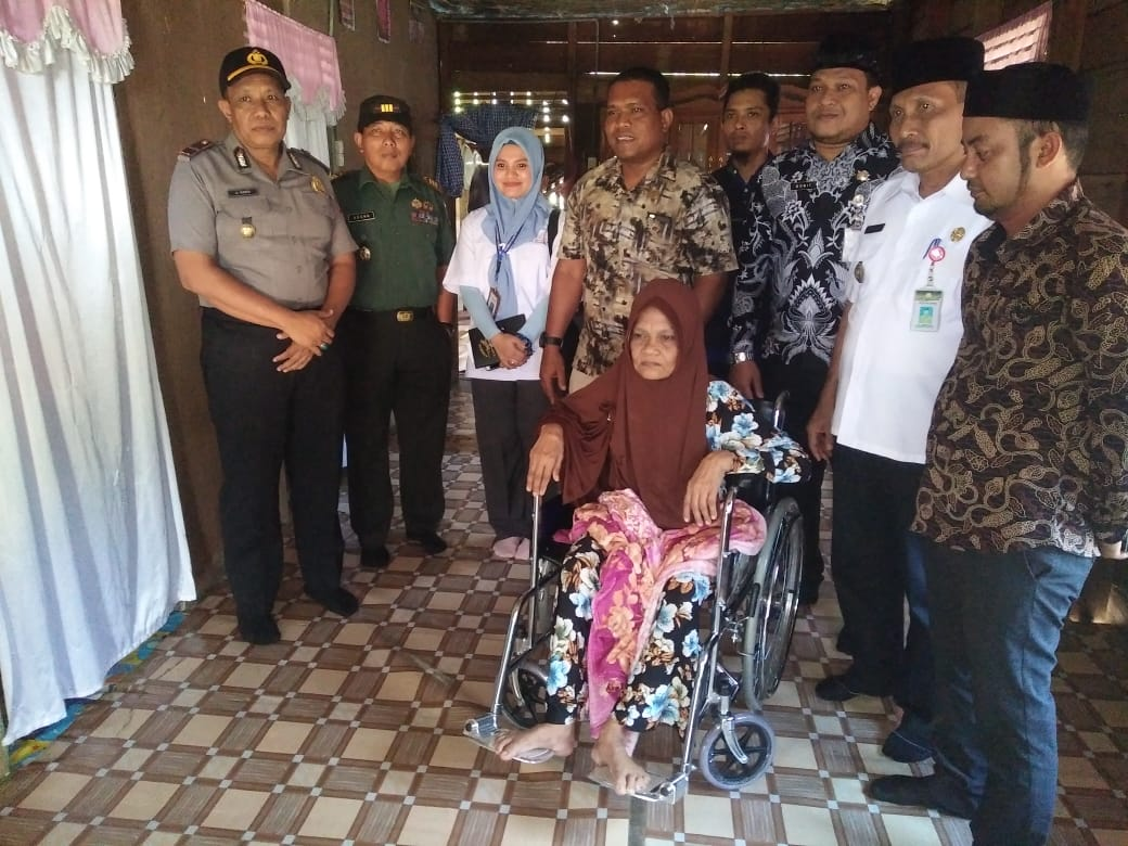 Dinas Sosial Monitoring Lapangan Bersama DPRK Aceh Timur