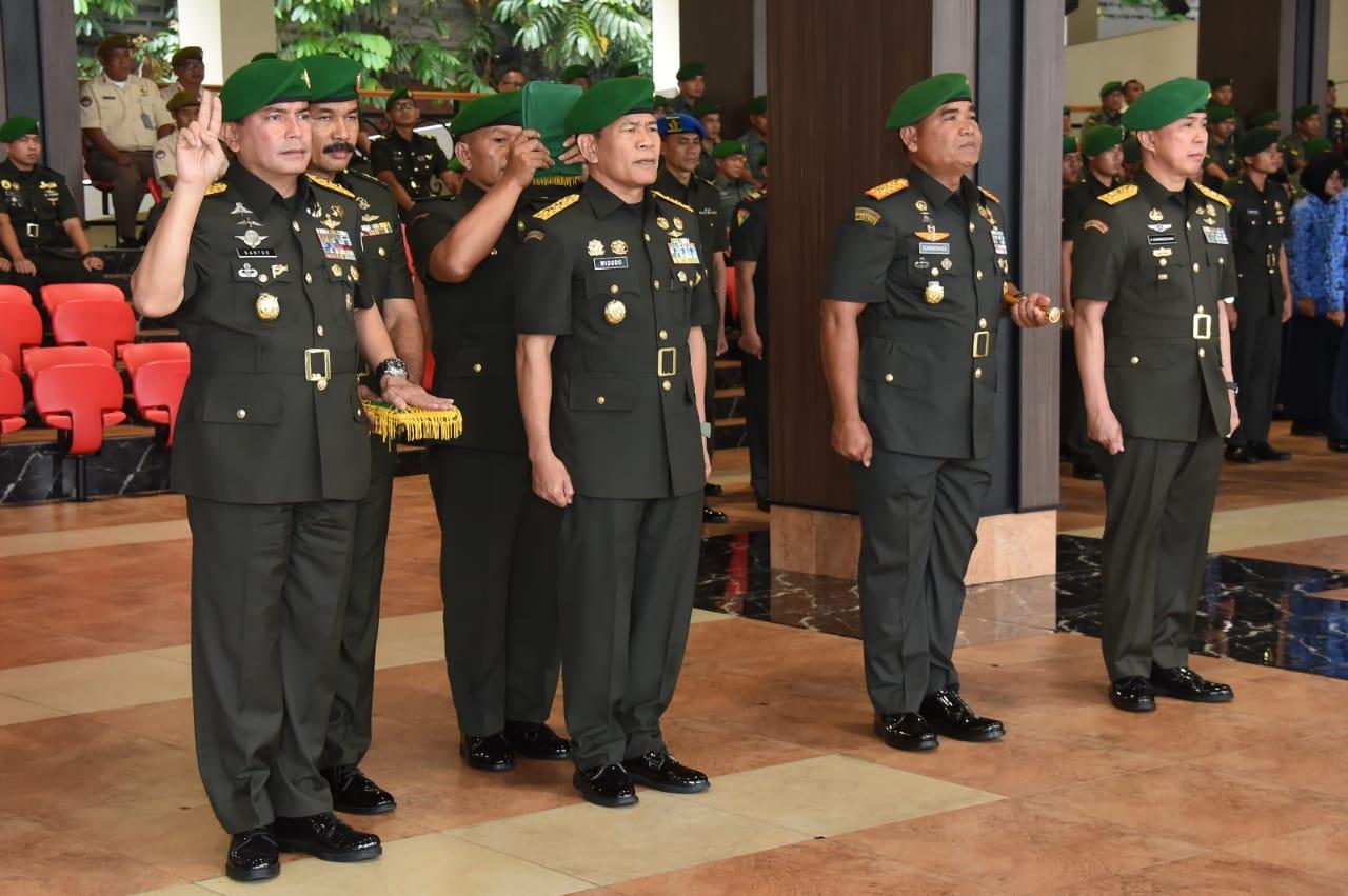 Kasad Jenderal TNI, Melantik Putra Terbaik Makasar Mayjen TNI Andi Sumangerukka Menjadi Pangdam XIV/Hsn