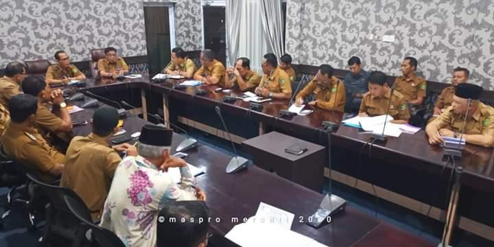 Asisten I Kab. Meranti Pimpin Rapat Pemekaran Dua Desa, Tetap Optimis Keputusan Berada Di Pusat
