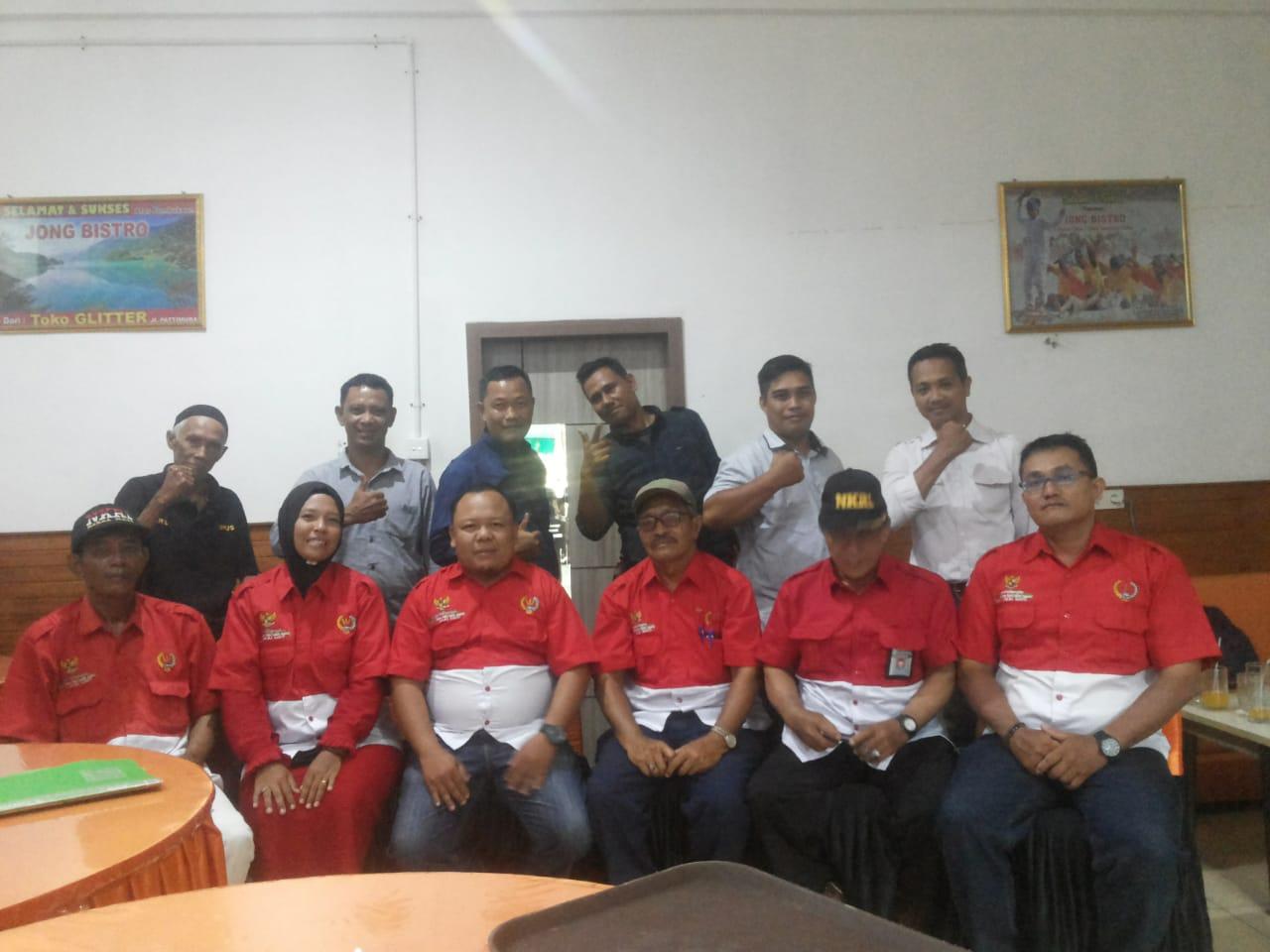 Gelar Rapat Persiapan Pelantikan Dan Pengukuhan DPC PWRI Kabupaten Bengkalis Riau