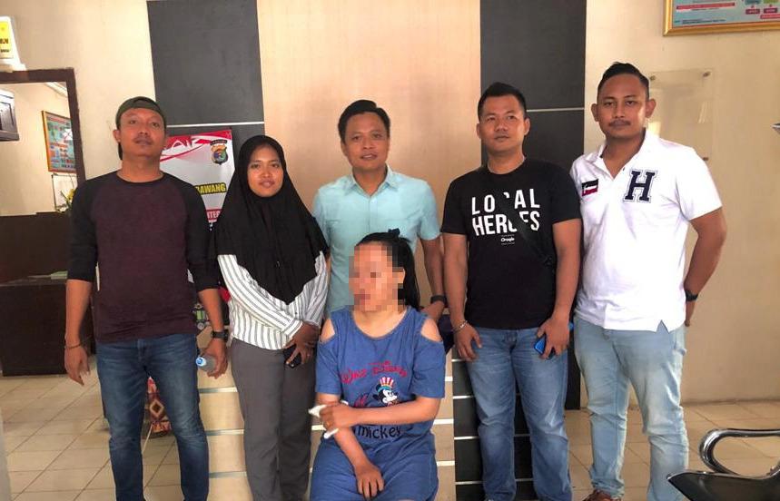 Polres Tulang Bawang Tangkap Wanita Penyebar Video Asusila Di Medsos