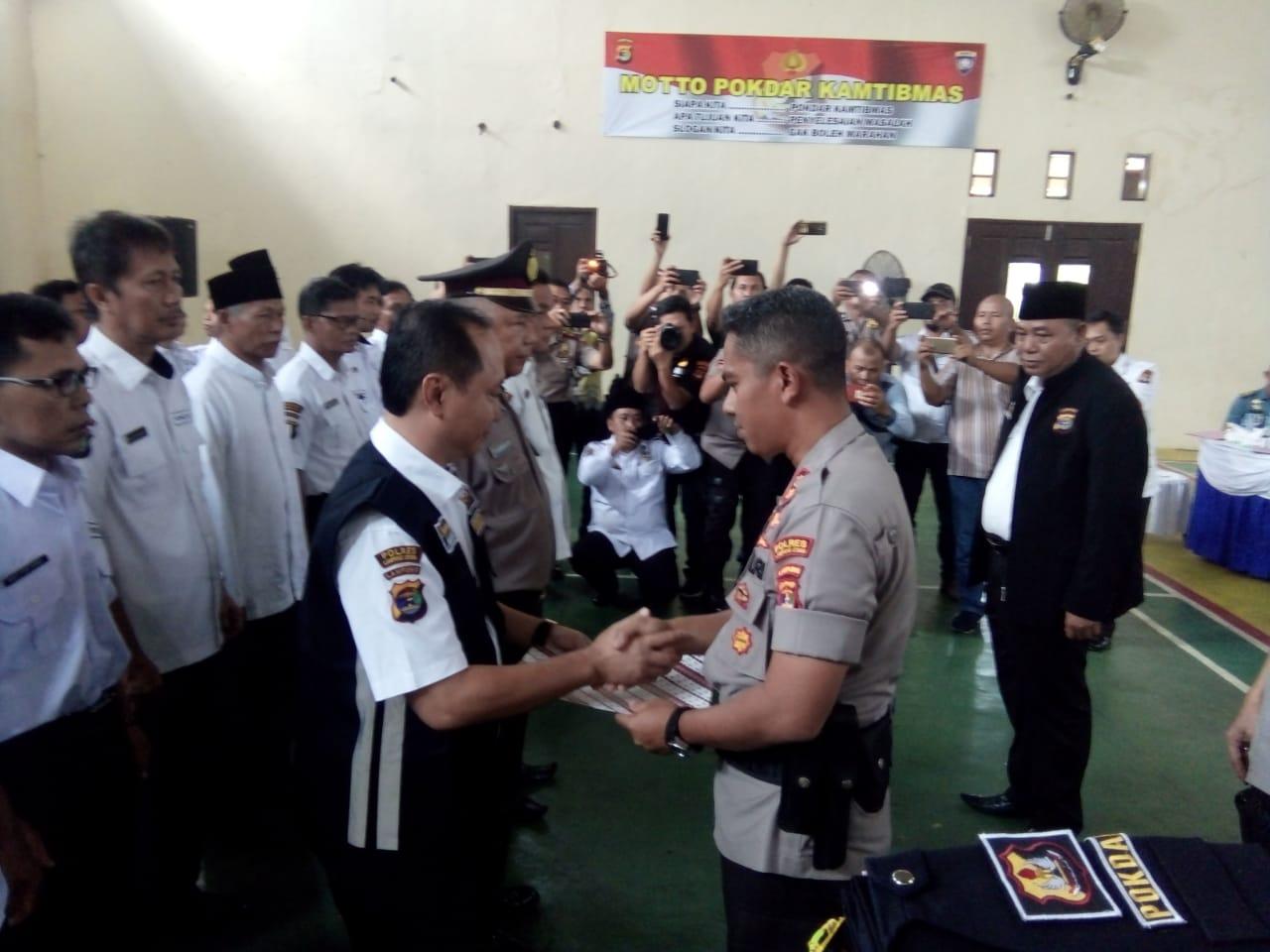 Tingkatan Pelayanan, Kapolres Lampung Utara Canangkan WBK Dan WBBM