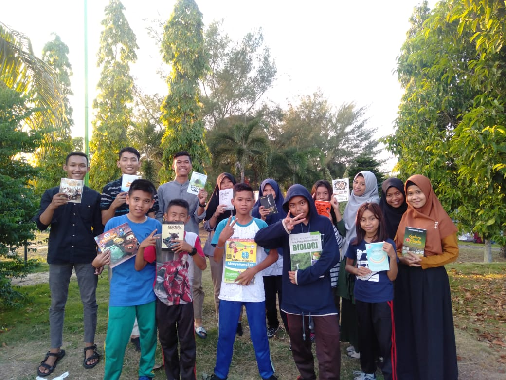 Komunitas Ruang Baca Luncurkan Sabtu Membaca