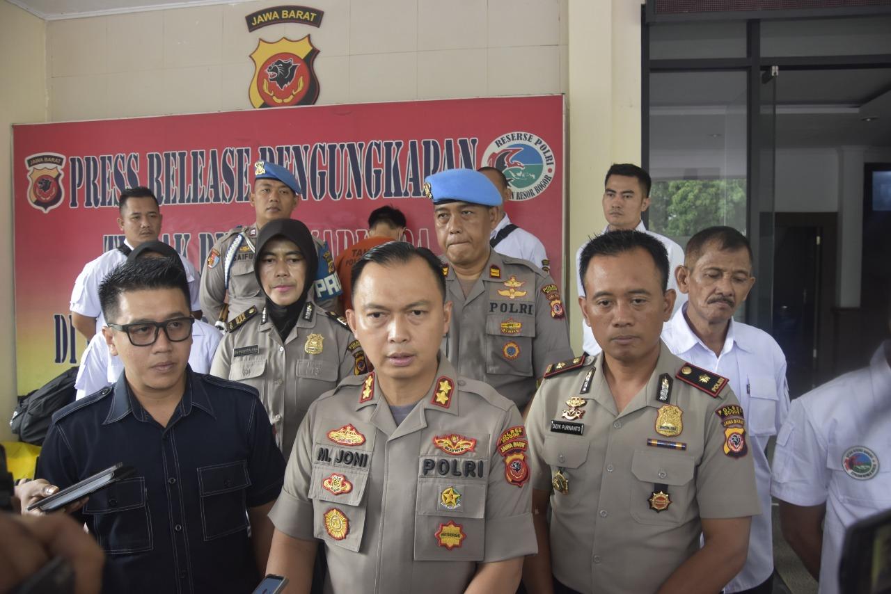 Satuan Reserse NarkobaPolres Bogor Berhasil Mengungkapan Pabrik Home Industry Ekstasi