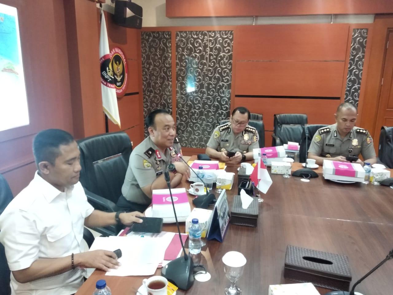 Karo Binkar Polri Kunjungi BNPT Bahas Jabatan Fungsional Dan Kerjasama Screening Pejabat Bahaya Terorisme