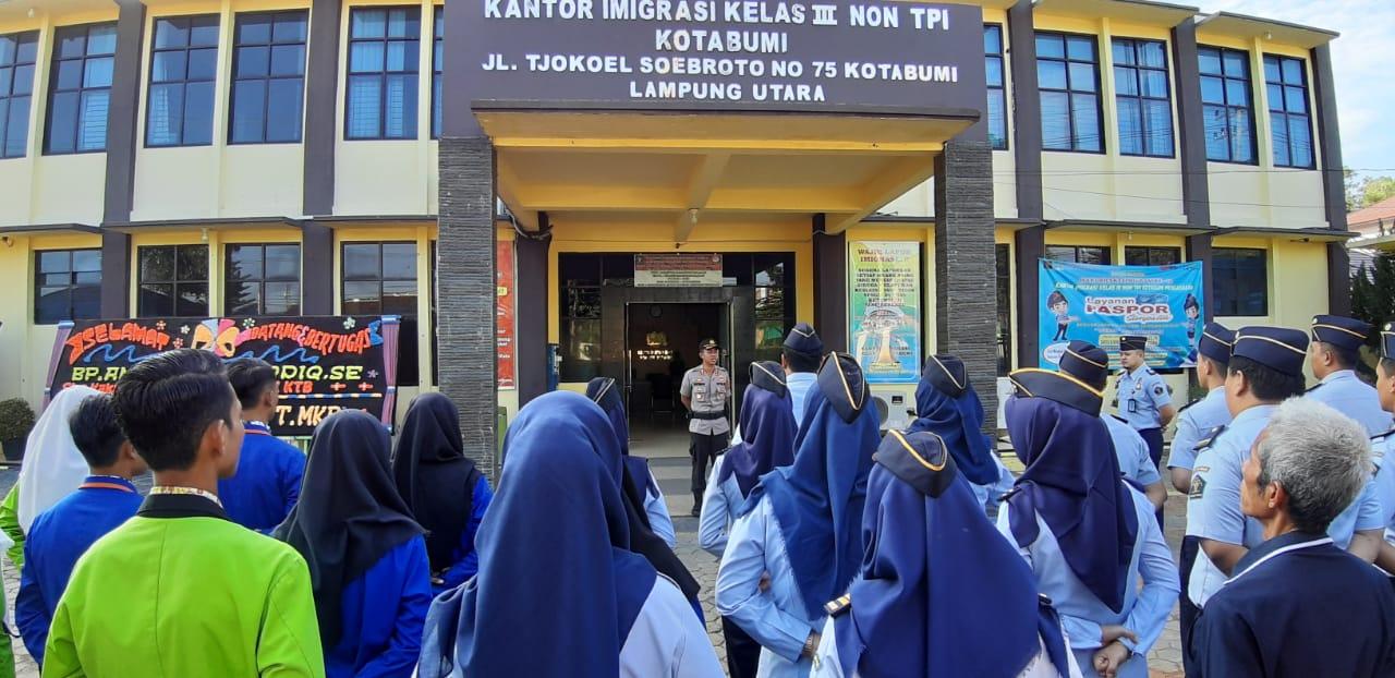 Implementasi 7 Program Prioritas Kapolri Dan 3P, Kapolres Lampung Utara Gelar Binluh