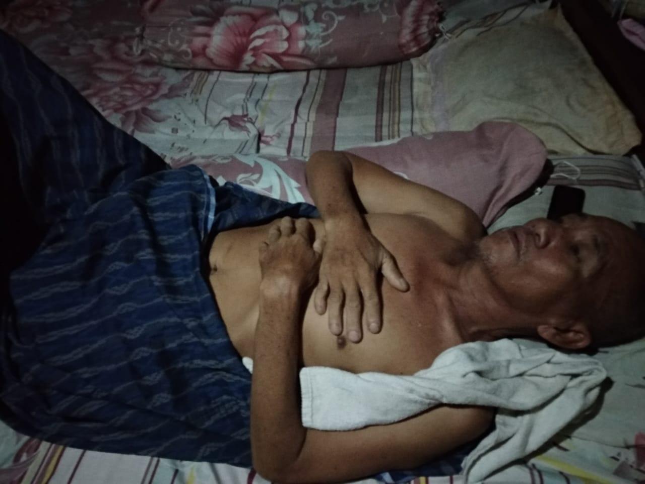 Tidak adanya Biaya, Ayah Abas Sekian Lama Menderita Penyakit TBC