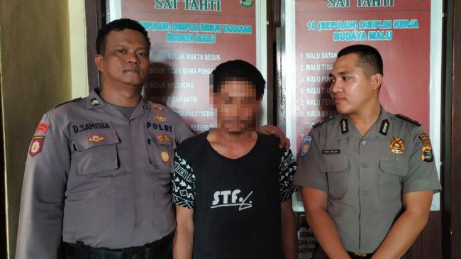 Dalam 6 Jam, Polisi Berhasil Menangkap Pelaku Pembunuhan Di Kampung Gunung Tapa