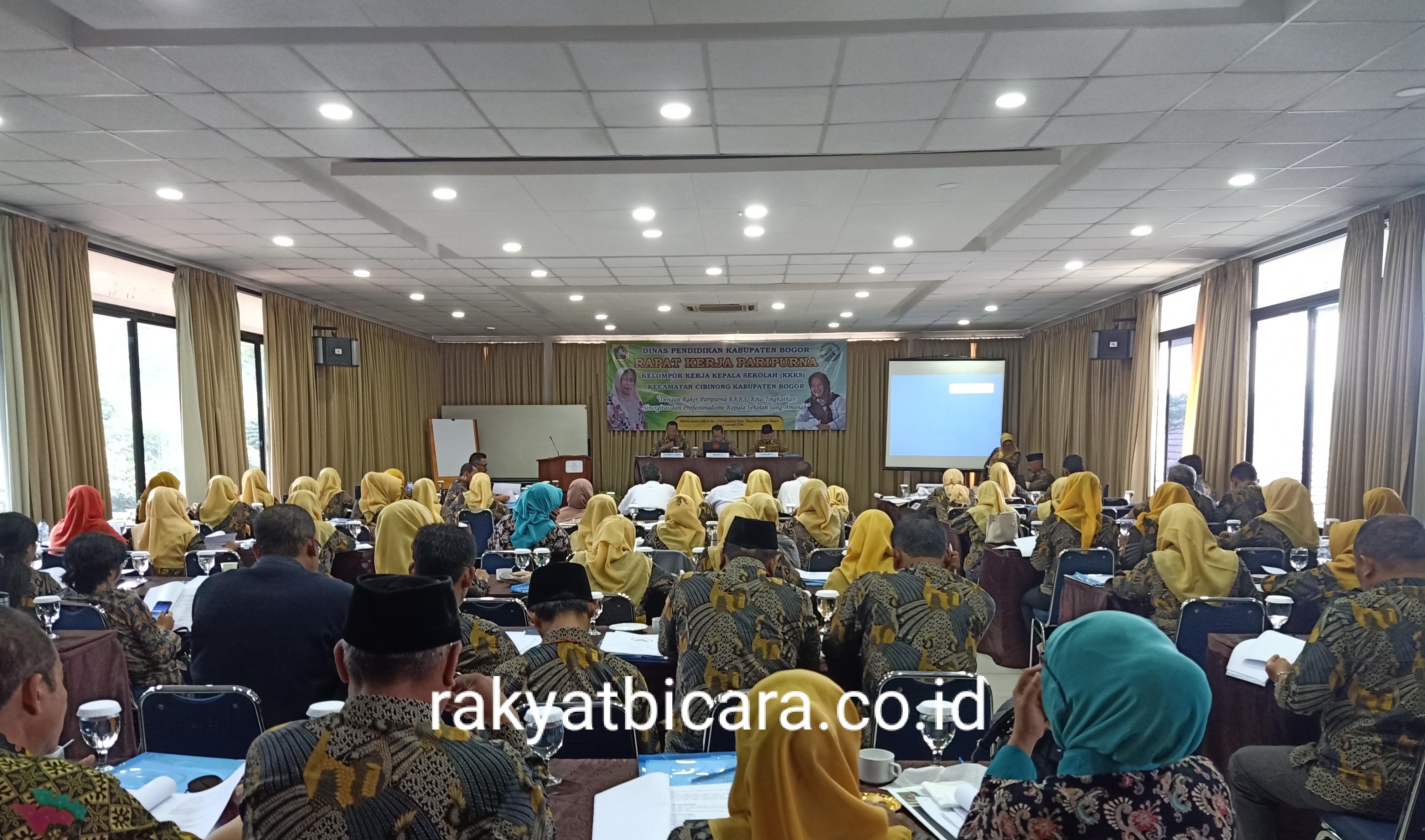 Rapat Kerja Paripurna KKKS Kecamatan Cibinong Tahun 2020