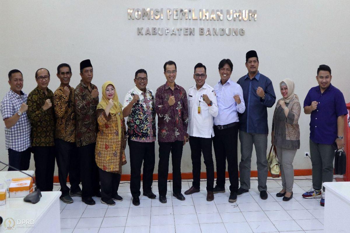 Kunjungi KPU, Komisi I Pantau Persiapan Pilkada Serentak 2020