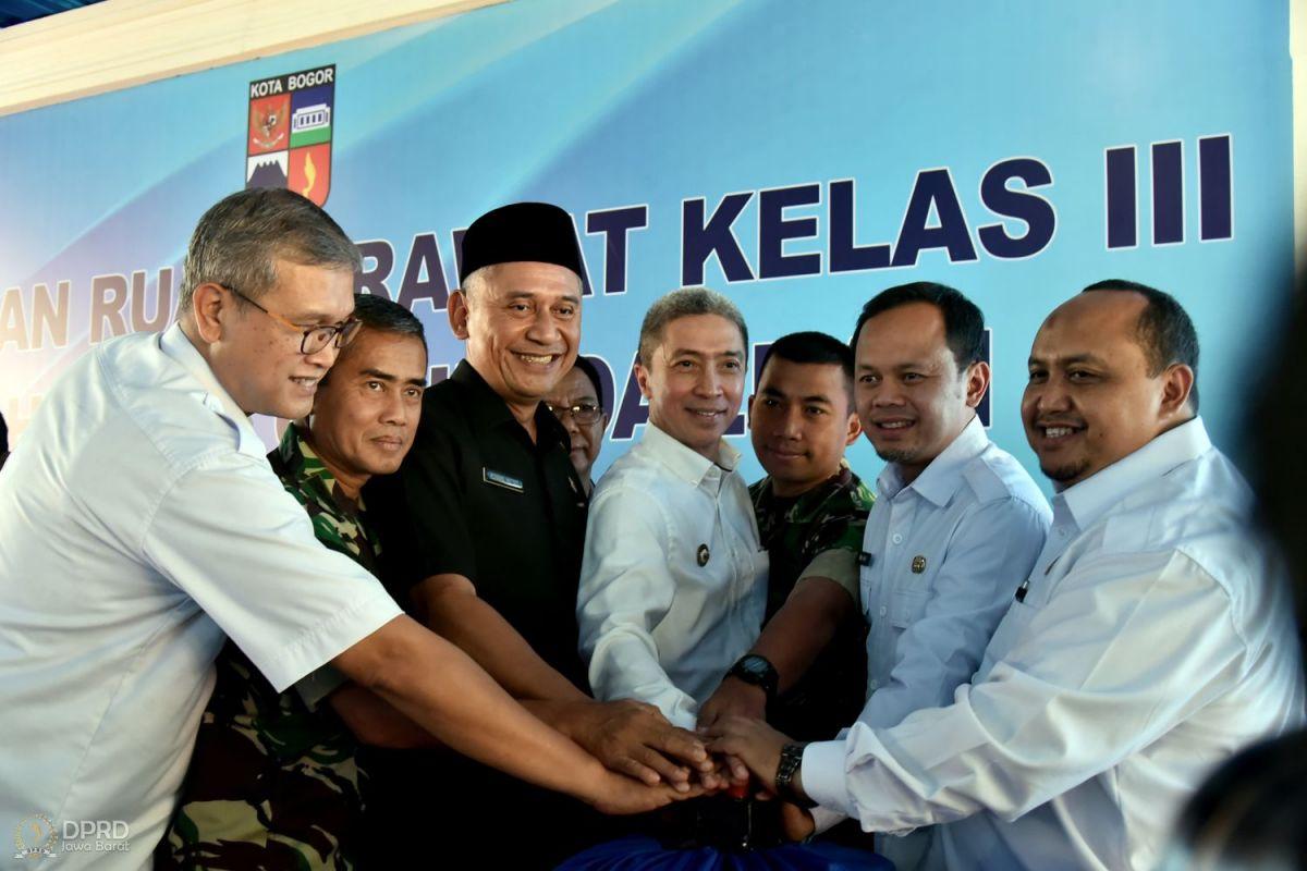 Peresmian Gedung Perawatan Kelas III RSUD Kota Bogor, Achmad Ru'yat Minta Pelayanan Kesehatan Dilayani Dengan Baik