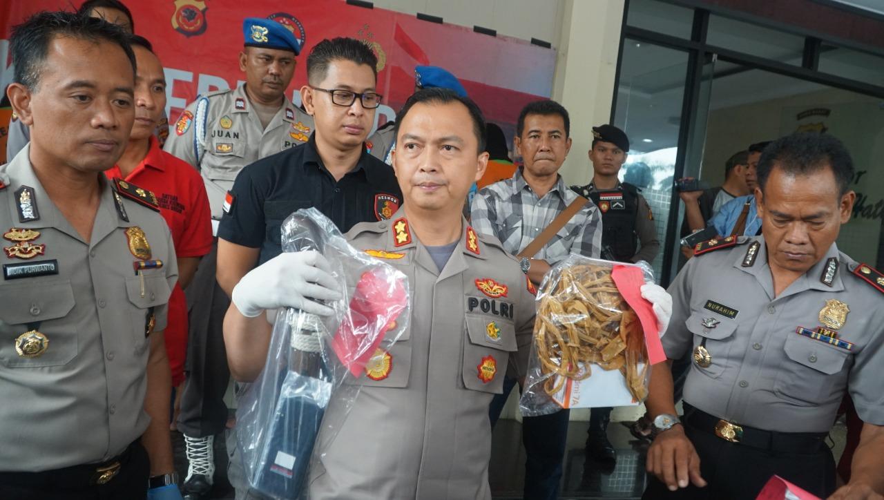 Kerugian 350 Juta, Enam Orang Tersangka Berhasil Dibekuk Personil Gabungan Reskrim