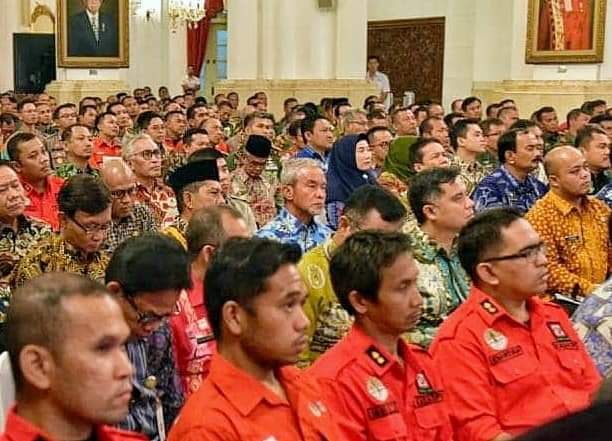 Wabup Said Hasyim Ikuti Rakor Pencegahan Karhutla Bersama Presiden Joko Widodo