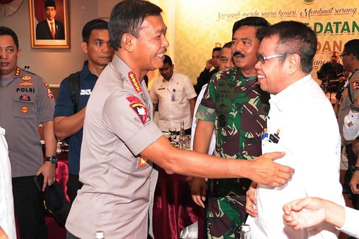 Bupati Bengkalis Siap Tindak Lanjuti Amanat Panglima TNI dan Kapolri