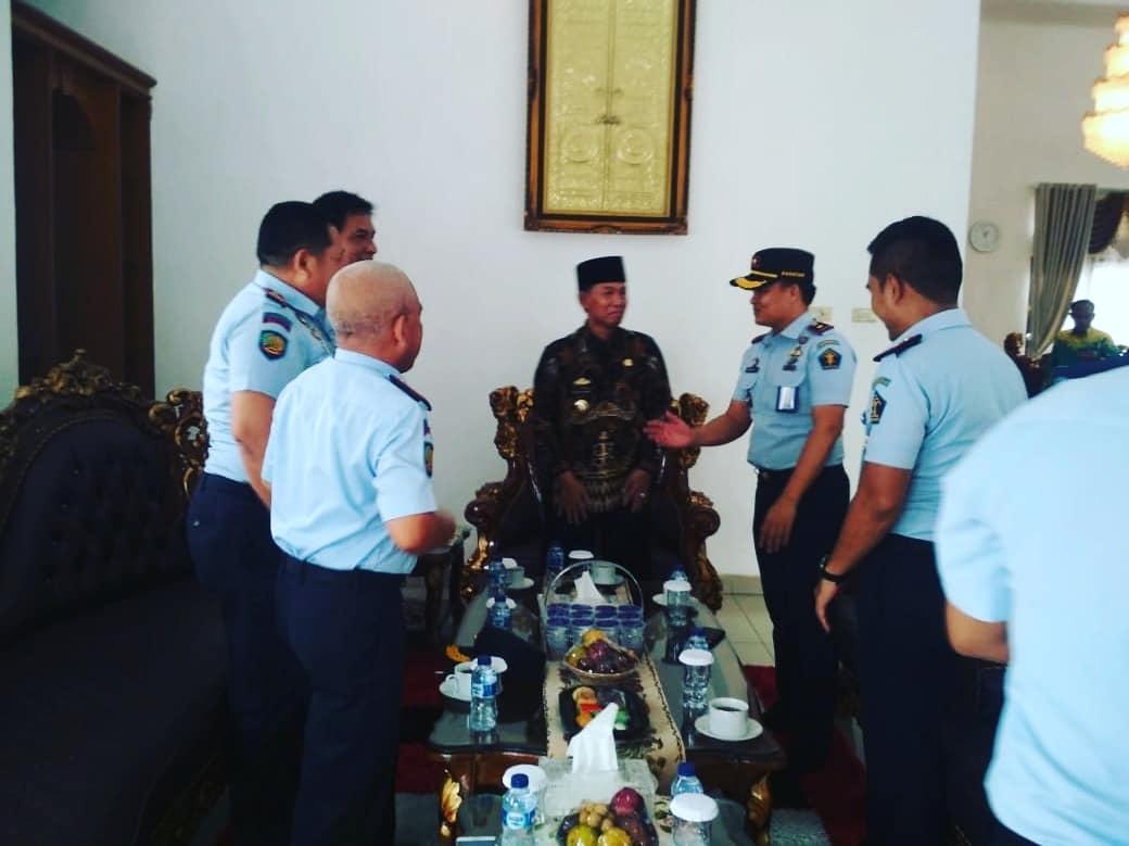 Bupati Menerima Kunjungan Lembaga Kemenkumham Wilayah Lampung Utara