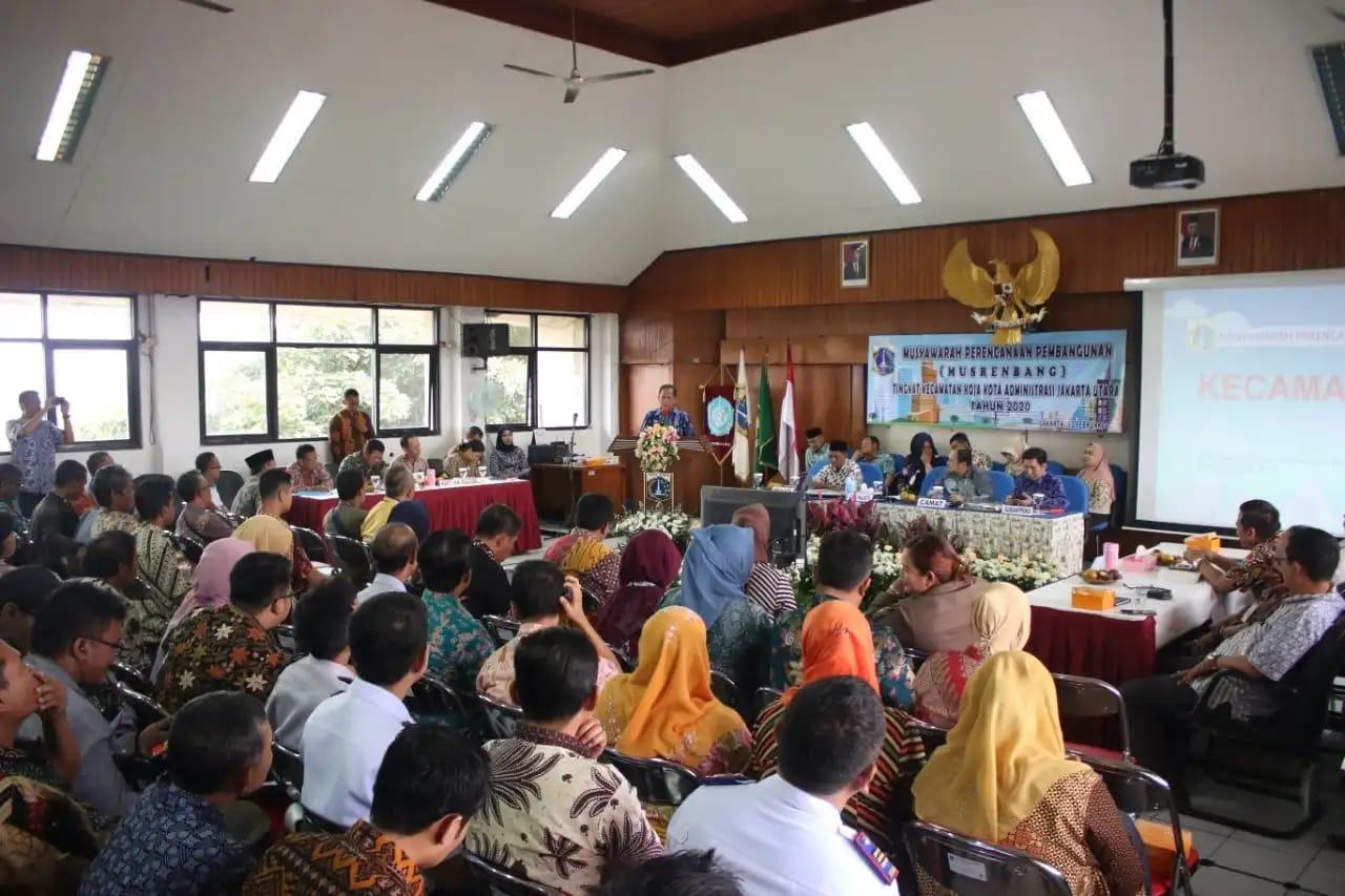 405 Usulan Rencana Pembangunan Kecamatan Koja Diteruskan Ke Tingkat Kota