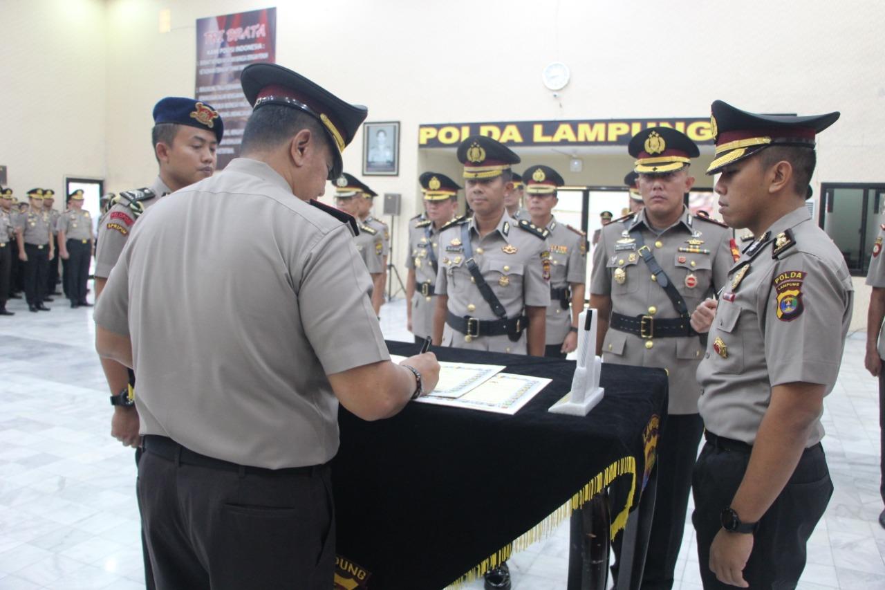 Jabatan Kapolres Lampung Utara Resmi Diserahterimakan
