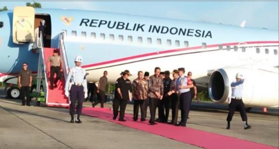 Kunjungan Presiden RI di Riau, Resmikan Proyek PT APR dan Tol Pekanbaru-Dumai