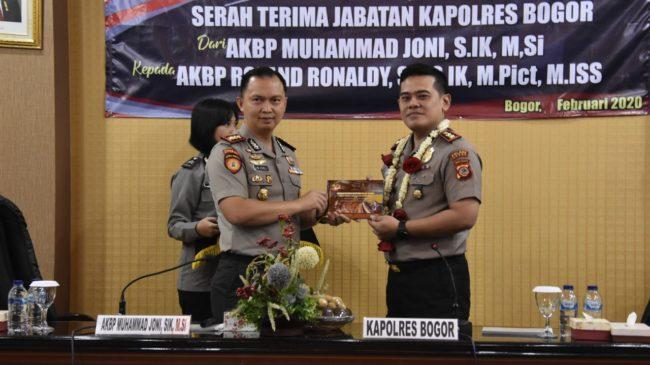 Kapolres Bogor, Pertemuan Malam Kenal Pamit di Gedung Serbaguna I Tegar Beriman Bogor