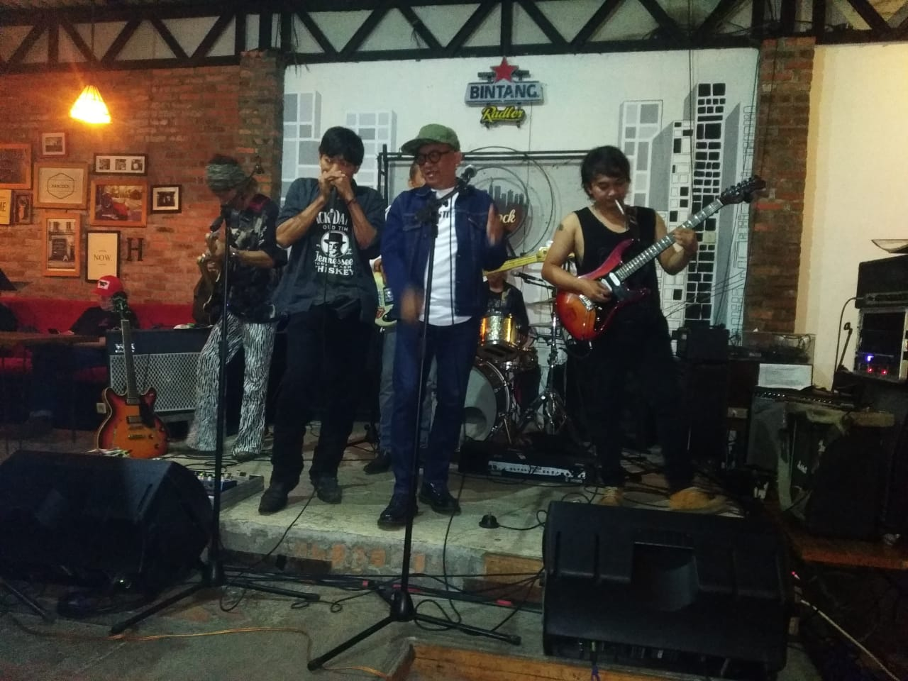 Hancock Resto Tampilkan Community Blues Router 06 Band