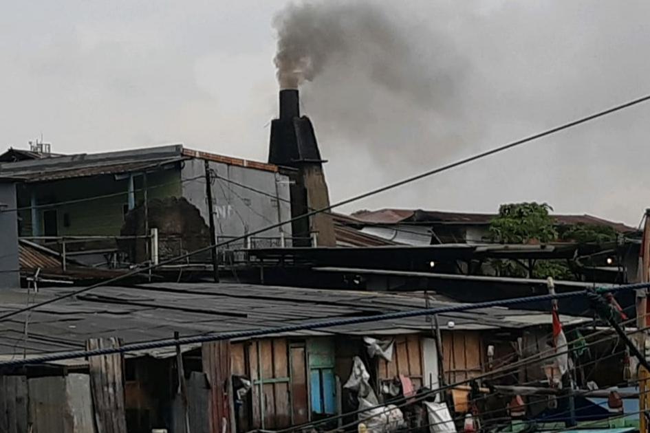Polusi Udara Diduga dari Pabrik Pengupasan Tembaga Dikeluhkan !!