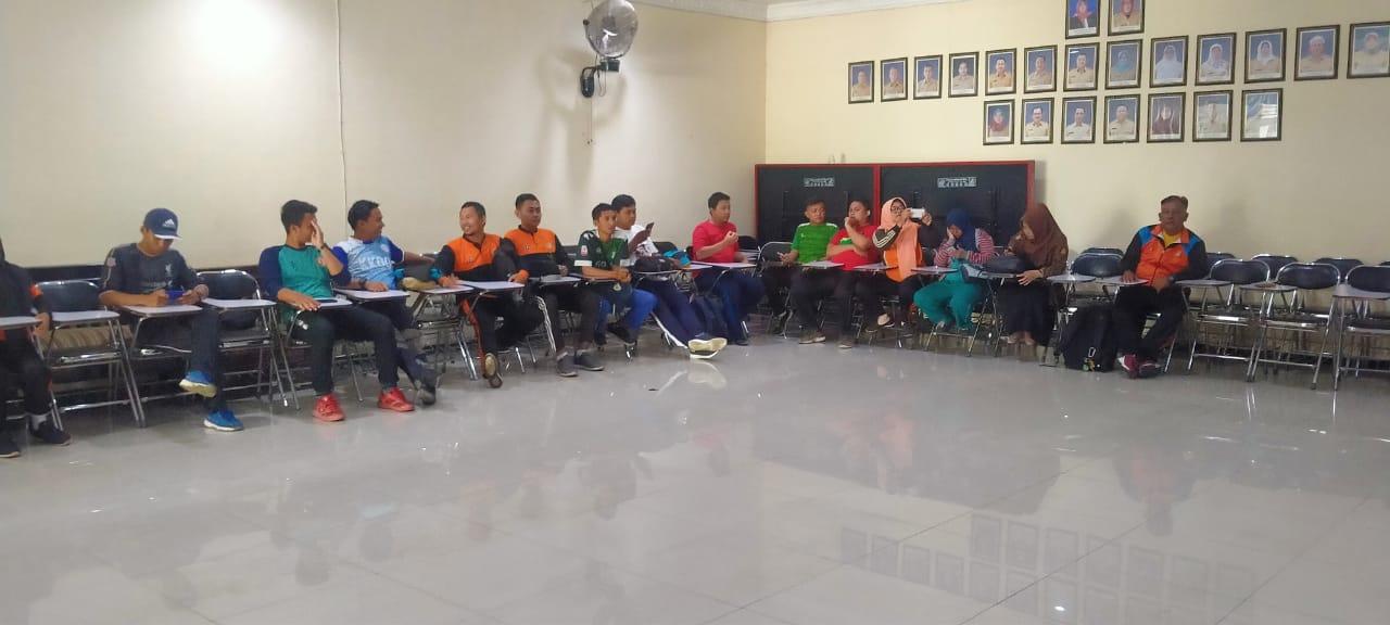 Giat Kelompok Kerja Guru Olahraga Di Kecamatan Cibinong