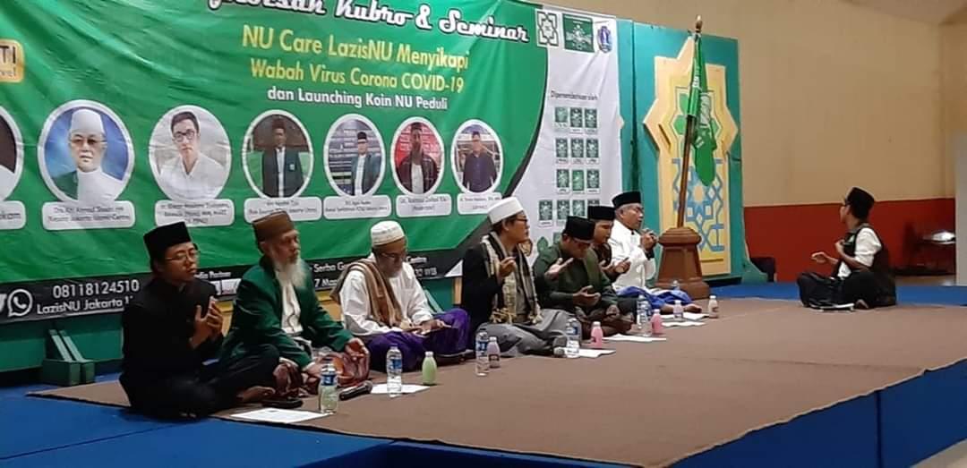 Dari Istighotsah Kubro dan Seminar Menyikapi Wabah Virus Corona COVID-19 di JIC