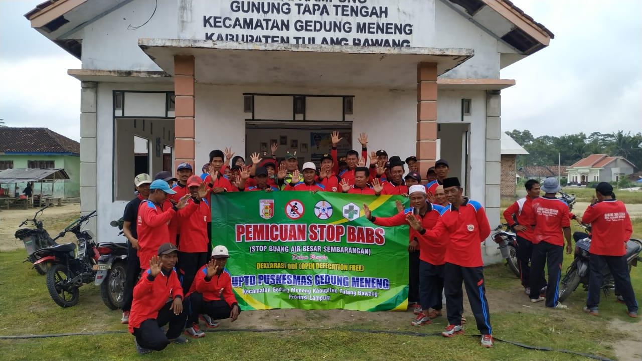 Katakan Tidak..!! Dengan WC Cemplung, Kata Serda Widiyanto Babinsa Koramil 426-02/Menggala