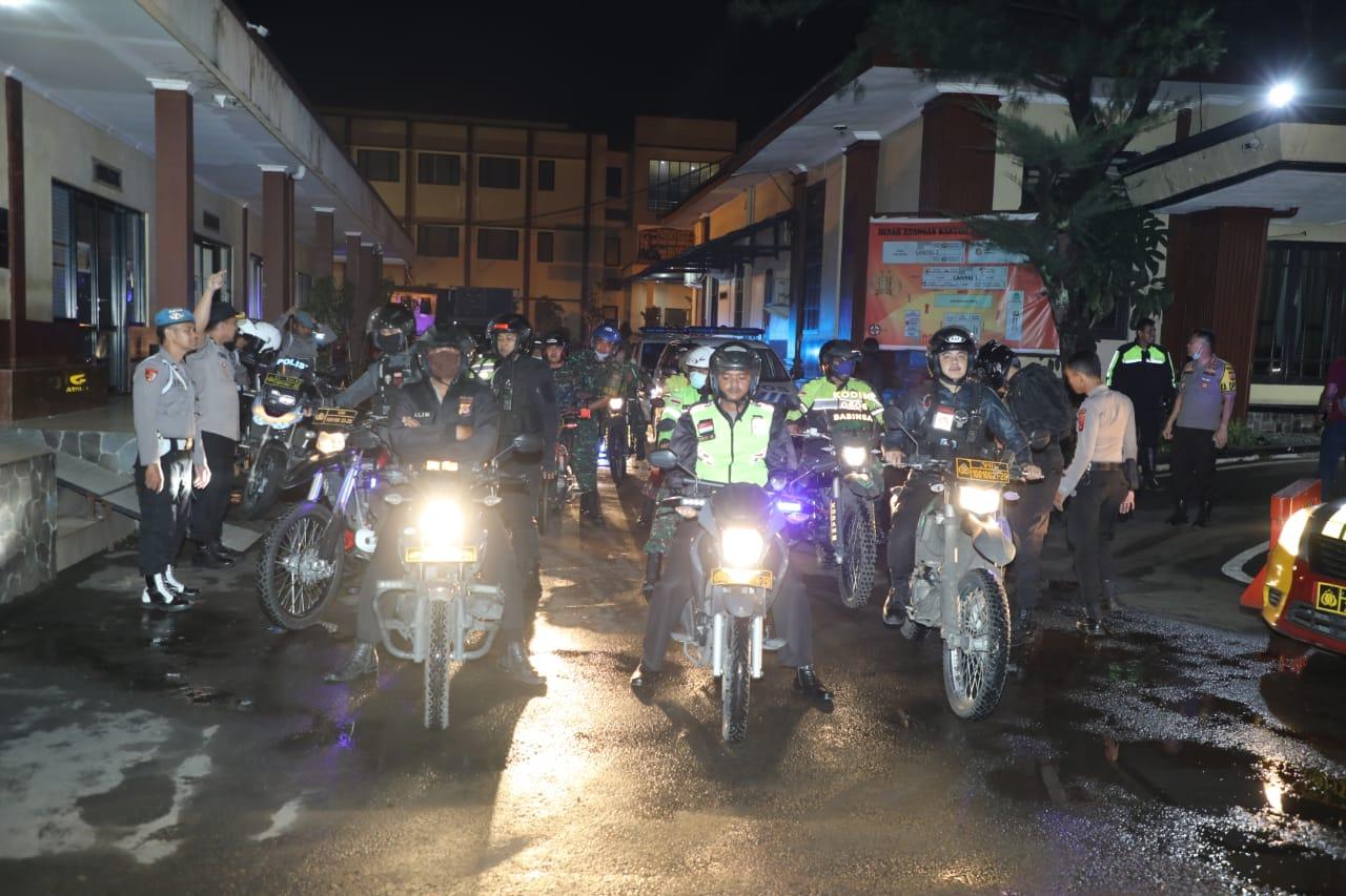 Polresta bersama Kodim 0606 Kota Bogor, Lakukan Penyemprotan Disinfektan