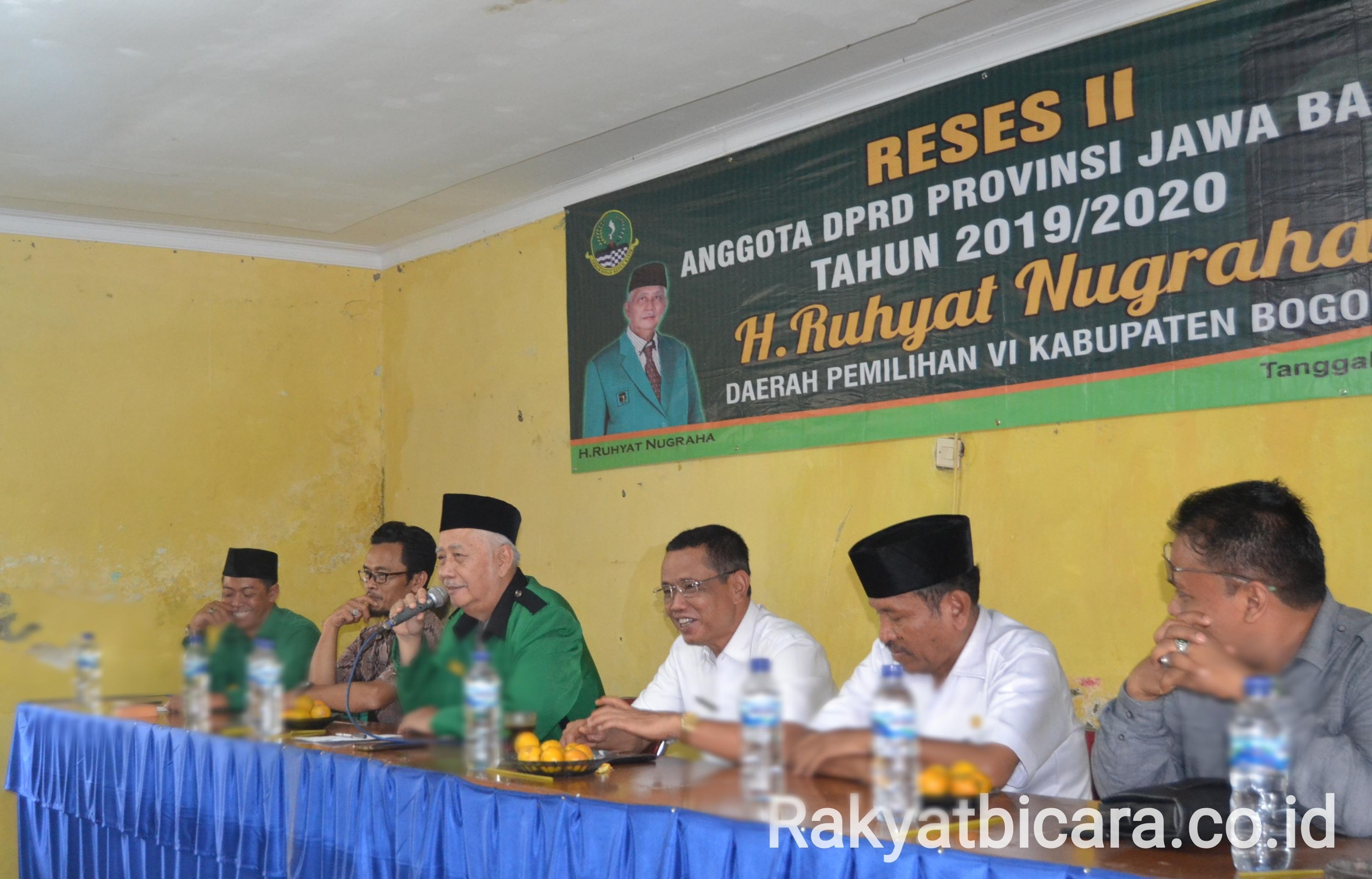 Reses II, Camat Bersama Lurah Harus fokus Pendidikan, Kesehatan Dan Kesejahteraan