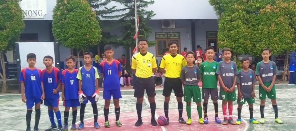 MI AL-HUDA Atasi Pabuaran 01 Dalam Turnamen Futsal Vhego Cup 1