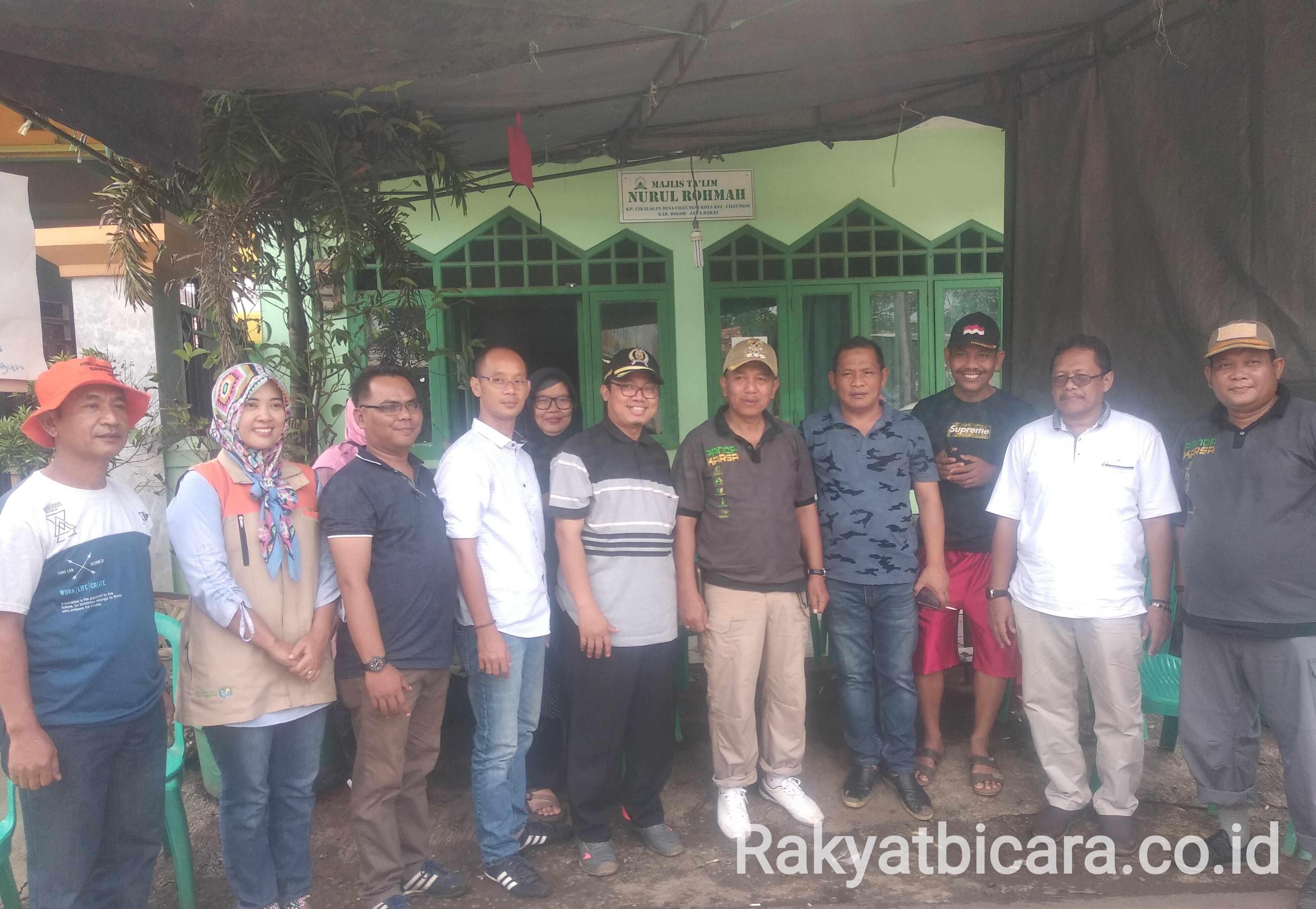 Anggota Komisi 3 DPRD Kab. Bogor Tinjau Pengangkutan Sampah Di Cikalagan