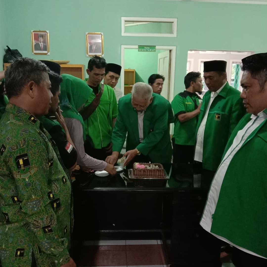 H. Ruhyat Nugraha Menghadiri Harlah Ke-47 DPC PPP Kab. Bandung