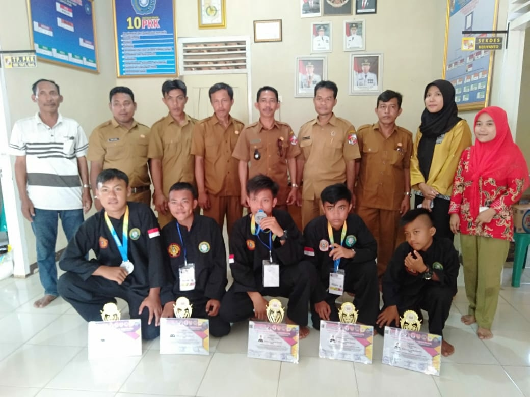 Lima Pelajar Mendapatkan Mendali Perak Ajang Lampung Internasional Champianship V