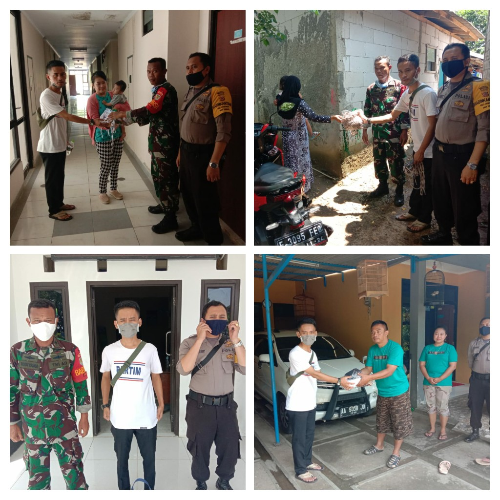 Desa Tangkil Kembali Berikan Bantuan Masker Geratis