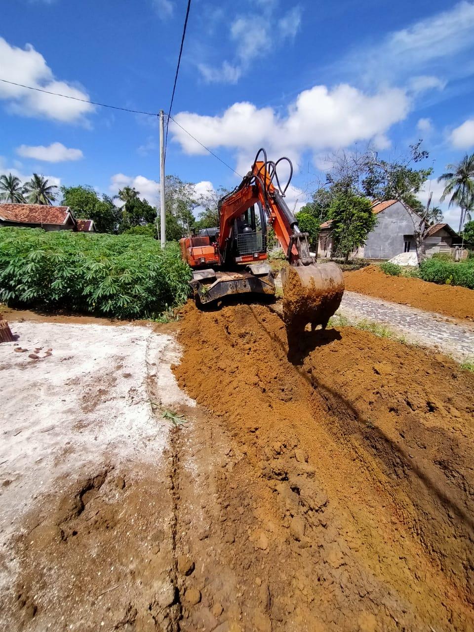 Desa Negeri Ujung Karang Mulai Lakukan Pembangunan