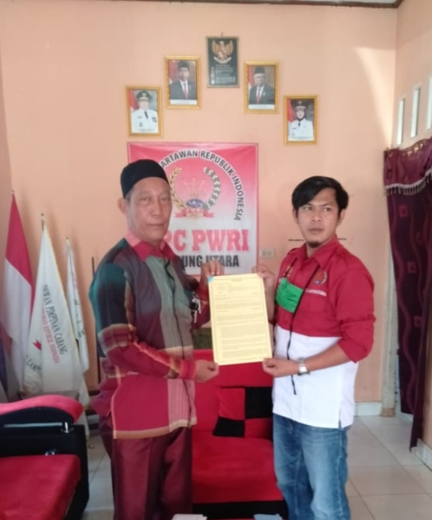LBH Penegak Hukum Dr. M.Yaman SH MH, Di Tunjuk Menjadi Pengacara DPC PWRI Lampura