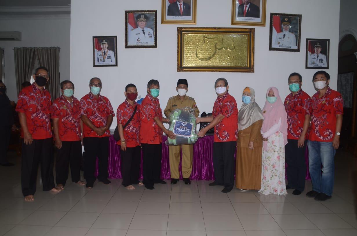 PSMTI Salurkan Bantuan (APD) Lengkap Untuk Tenaga Kesehatan Penanganan Covid 19