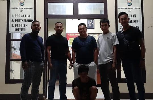 Kangen Sama Kawan Di Dalam RutanResidivis Asimilasi Kembali Di Amankan