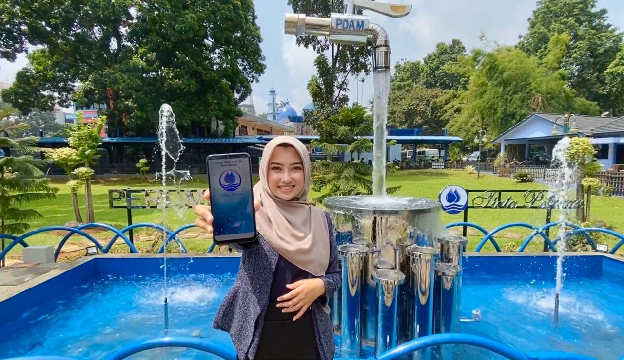 Jelang Hari Raya Idul Fitri 1441 H, Tirta Pakuan Kota Bogor Anjurkan Pelanggan Gunakan Aplikasi SIMOTIP