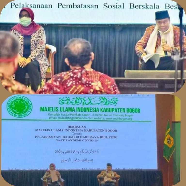 Ade Yasin, Himbau Masyarakat Laksanakan Takbiran & Shalat Id Dirumah
