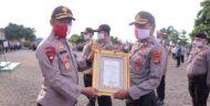 Kapolda Lampung Berikan Reward Kepada 14 Personel Polres Tulang Bawang, Berikut Daftar Namanya