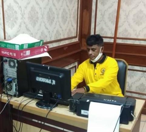 Dewan kota Jakarta Utara Minta Camat dan Lurah Turun Ke Wilayah Covid 19 ODP