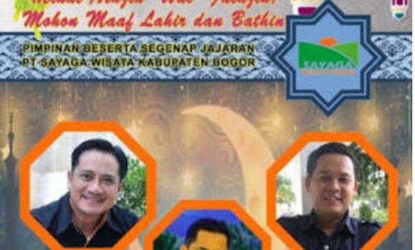 PT. Sayaga Wisata Kab. Bogor Mengucapkan Selamat Idul Fitri 1 Syawal 1441 H