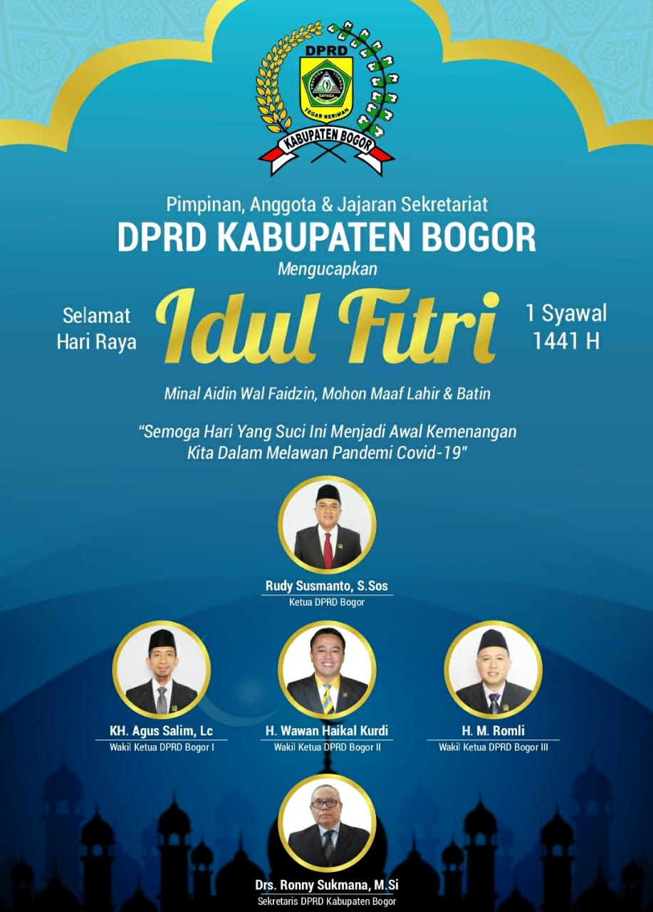 Pimpinan, Anggota & Jajaran Sekretariat DPRD Kab. Bogor