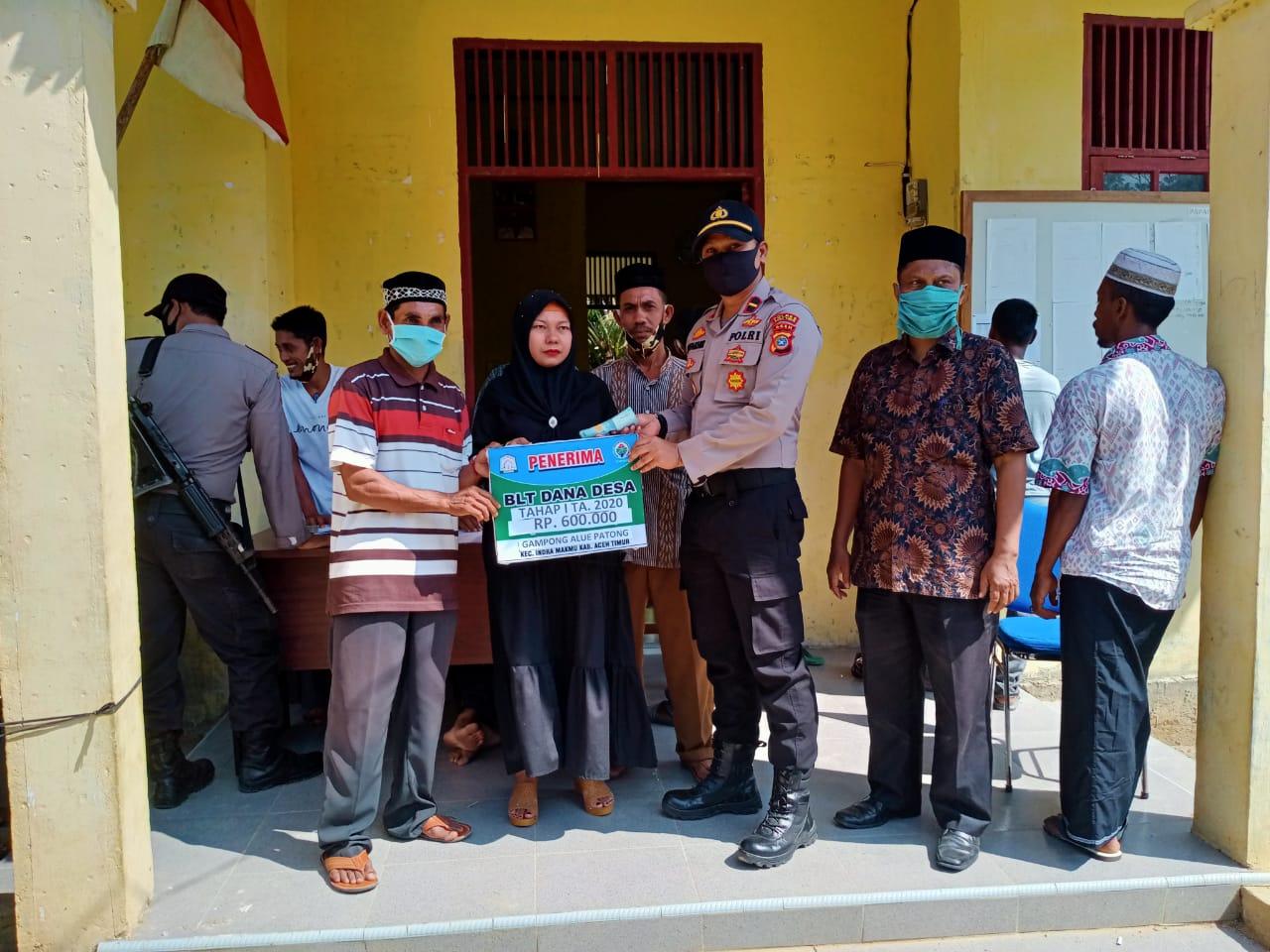 Pembagian BLT Dana Desa Alue Patong, Indra Makmu Tahap Pertama Berlangsung Sukses