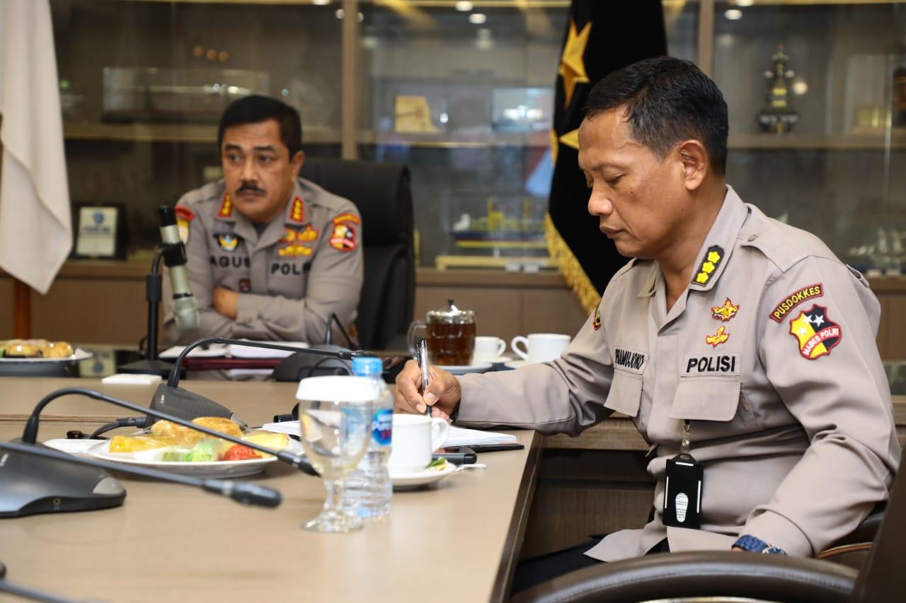 Kabaharkam Polri Wakili Kapolri Ikut Rakor Pimpinan Menko PMK